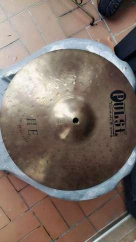 """Hi Hat Pulse de 13"""" Aliacion Brass"""