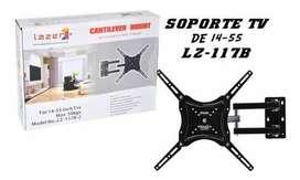 Soporte Para Televisor De 14 A 55 PuLG Con Brazo Giratorio