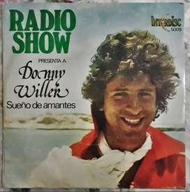 Vinilo Simple Donny Willer - Sueño De Amantes/es una invitación  Interdisc 1978