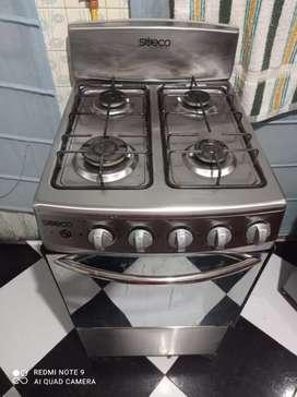 Estufa con horno sueco