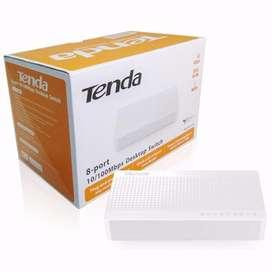 Switch  Tenda S108  Escritorio 8 Puertos 10/100