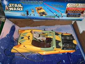 Star Wars speeder + Obi wan