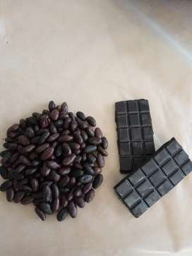 Chocolate 100% cacao puro fino de aroma.