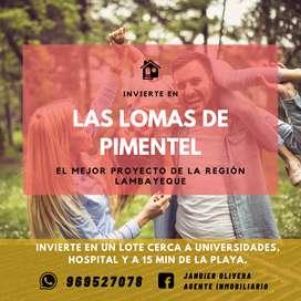LOTES EN LA MEJOR ZONA DE PIMENTEL - CHICLAYO