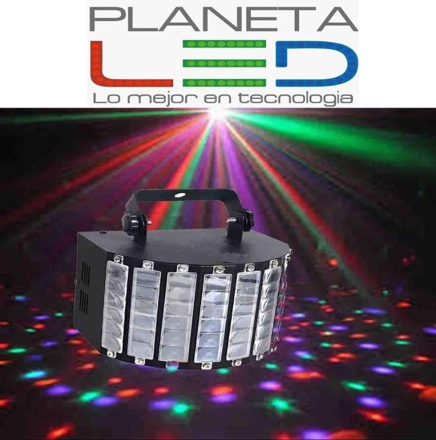 Luces Led Dj Tacho Robotica Derby Audio Rítmico Dmx 0