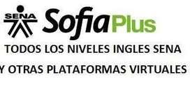 Cursos de Ingles Sena Virtual y otras plataformas.