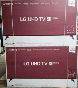 En venta Smart tv  lg de 65 pulgadas UHD 4K