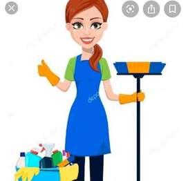 Se busca empleada domestica 1/2 tiempo que le gusten los niños