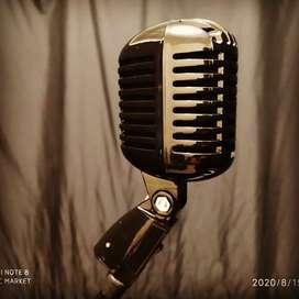 Micrófono dinámico clasico