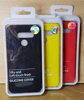 Funda Soft Case LG K50 - Q60 Siliconada Soft Antigolpe
