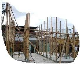 Construcciones En Guadua Con La Mejor Calidad De Equipos Andamios Formaletas Mezcladoras Vibradores Plumas