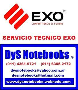 EXO SERVICIO TECNICO NOTEBOOKS NETBOOK LAPTOP