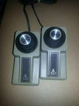 2 U. Controles - Joysticks Para ( Atari Pong Super Pong )