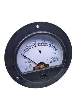 Medidor de voltaje Análogo 0/50VDC
