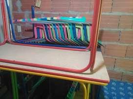 Mesas y sillas de Jardín Infantil Tableros