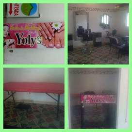 Muebles sala de belleza