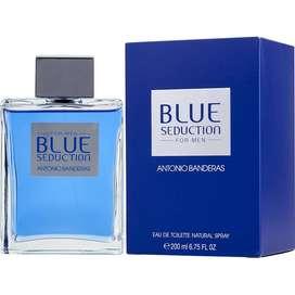 Perfumes mb Antonio Banderas Blue Seduction for men eau de toilette 200ml Original Garantia