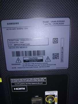 Smart TV samsung repuestos pantalla partida
