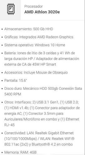 Portátil HP 255 GT7