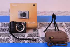 Cámara compacta Canon PowerShot A810 - Cámara digital de 16 MP con pantalla LCD + REGALOS