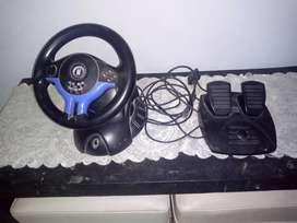 Vendo volante más pedalera play 2