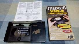 Adaptador De Cassette Vhs-c a Vhs