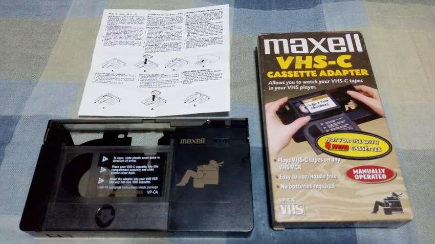 Adaptador De Cassette Vhs-c a Vhs 0