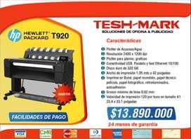 PLOTTER HP T920