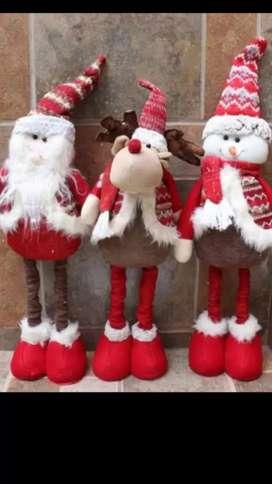 Muñecos navideños