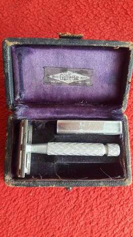 vintage máquina de afeitar gillette industria argentina