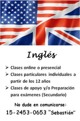 Enseñanza de Inglés - Clases online o presenciall, individuales