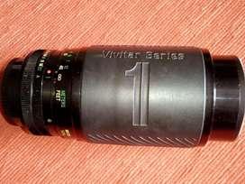 Zoom Vivitar Series 1    70-210 m.m y Macro con filtro UV Cokin