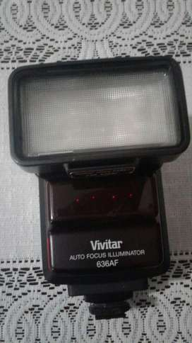 FLASH VIVITAR AUTO FOCUS ILLUMINATOR 636AF