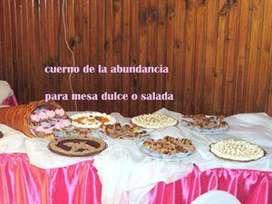 mesas dulces y saladas para tu evento
