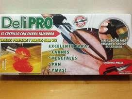 El Cuchillo con Sierra Tajadora para Tajadas Perfectas: Carnes, Vegetales, Pan y más! Gangaaa!!