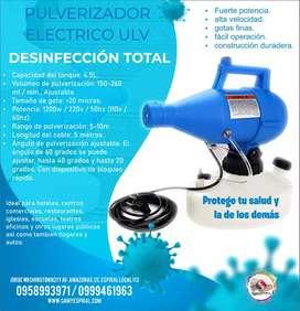 Atomizador pulverizador desinfectante. USD 165 más IVA