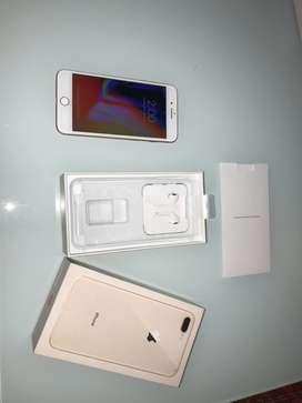 Celular iphone 8 plus rosado 64gb