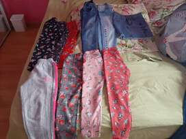 Lote de ropa para nenas