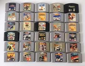Juegos para Nintendo 64!!! 100% Originales