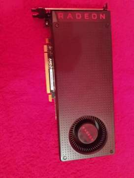Rx 480 8 gigas gddr5 o permuto por notebook o camara canon