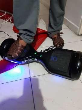 Vendo patineta con  luces , inhalambrica