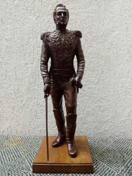 Escultura Bolivar  el libertador, bronce