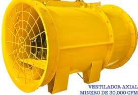 Ventilador axial minero