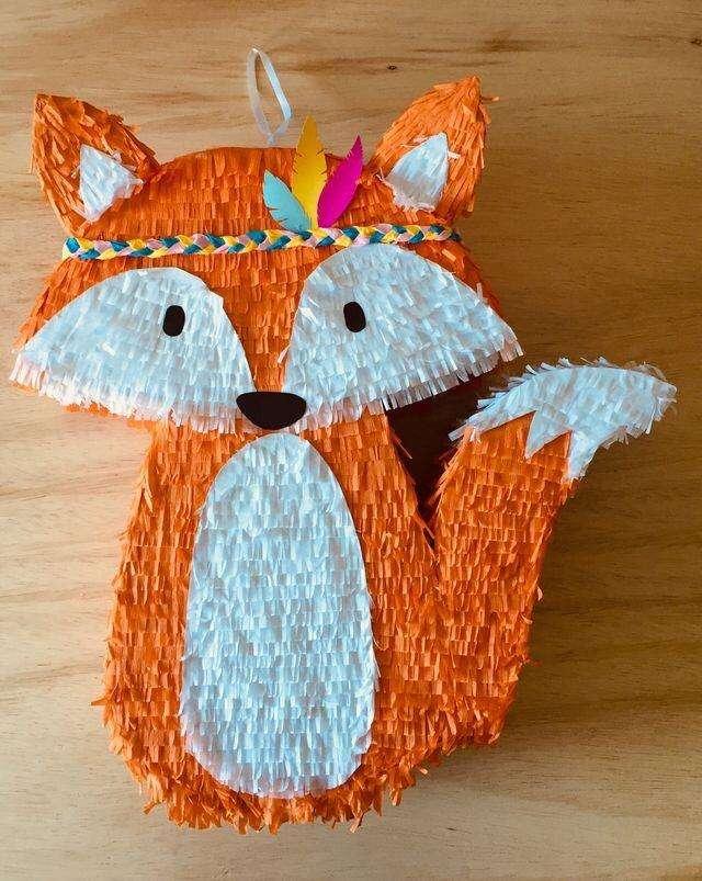 Piñata Bosque Zorro a Pedido Y Motivos 0