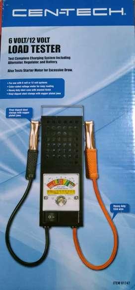 Probador de carga de baterias de 6 y 12 voltios 100 amperios