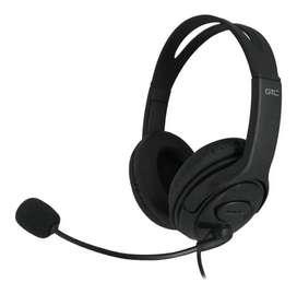 Auriculares Gamer Gtc Auricular Microfono Hsg 600 con Mic