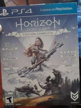 Se vende Horizon ps4 barato