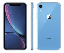 IPHONE XR 128gb color light blue