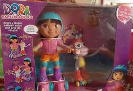 Fisher Price Dora La Exploradora Dora Y Botas Patines