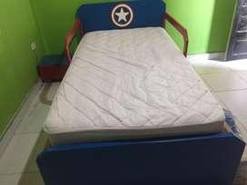 Vendo cama de niño capitan america completamente nueva